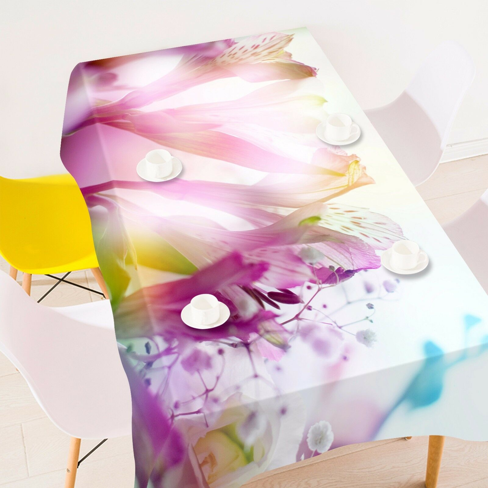 3D Flower 4020 Tablecloth Table Cover Cloth Birthday Party Event AJ WALLPAPER AU
