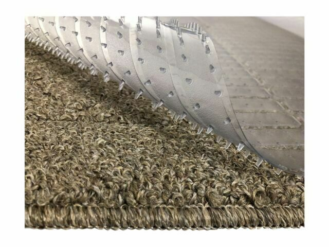 Clear Vinyl Plastic Floor Runner Protector For Deep Carpet Non