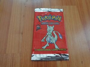 RARE-ORIGINAL-1999-POKEMON-BASE-2-SET-MEWTWO-ARTWORK-EMPTY-BOOSTER-CARDS-PACK