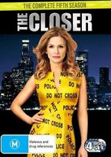 THE CLOSER : COMPLETE SEASON 5 (english cover) - DVD - UK Compatible