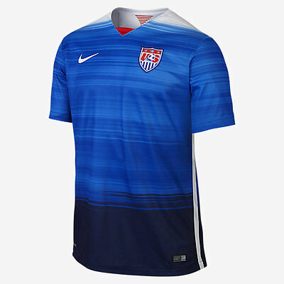NIKE USA AWAY JERSEY 2015/16 US SOCCER TEAM   eBay