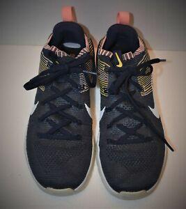 Nike Metcon DSX Flyknit 2 tren Zapato Colegio Azul Marino ...