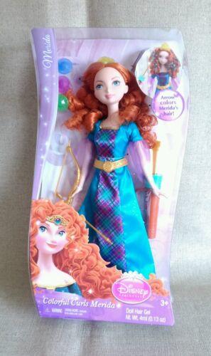 THE DISNEY PRINCESS Coloré Boucles BRAVE MERIDA poupée Entièrement neuf dans sa boîte Y8214