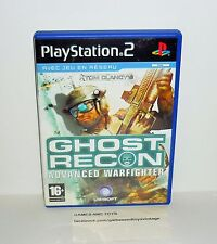 JEU PS2 COMPLET TOM CLANCY'S GHOST RECON ADVANCED WARFIGHTER