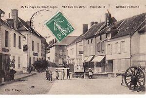 CPA-51-VERTUS-Illustre-Place-de-la-Grande-Fontaine-Au-Pays-du-Champagne