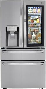 LG LRMDS3006S 36 Inch Smart French Door Craft Ice™ Refrigerator