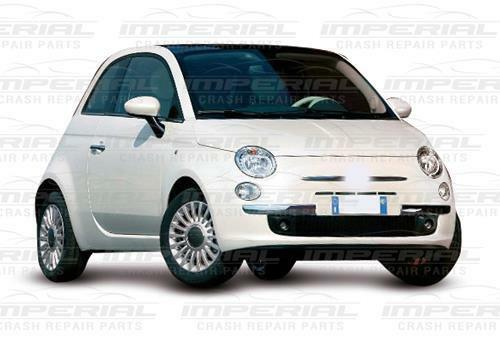 Drivers Side Front Bumper Chrome Trim Moulding O//S Right Year 08-15 Fiat 500