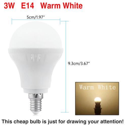 15W Energieeffiziente E27 E14 B22 G9 GU10 5733 LED Lampe Glühbirne Birne Lampe