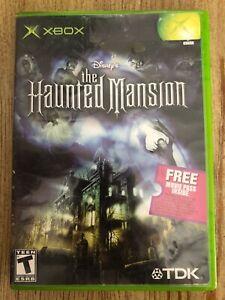 The-Haunted-Mansion-Microsoft-Xbox-No-Manual