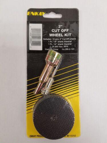 "Enkay # 288-2-12C 12pc 2/"" Cut Off Wheel Kit"