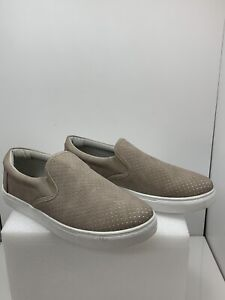 Sneaker Slip On Casual Shoes Taupe Size