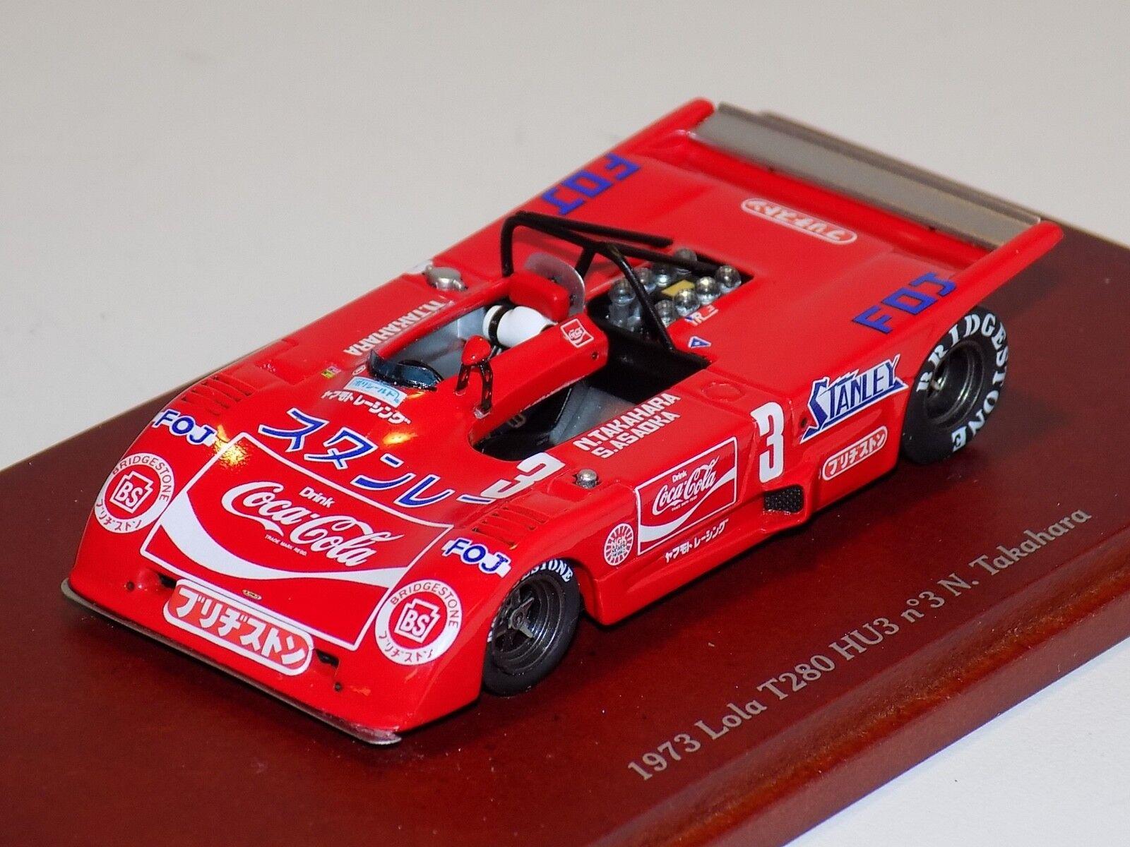 1 43 True Scale TSM 1973 Lola T280 HU3  N.Takahara Car TSM114341