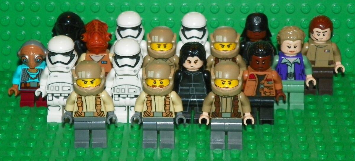 LEGO Star Wars  Episode 7 - Mini Figure Lot - 17 Minifigs   Mini Figures