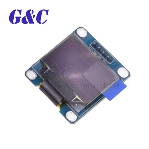 """Blue 0.96/"""" IIC 12C Serial 128X64 OLED LCD LED Display Module SSD1306"""