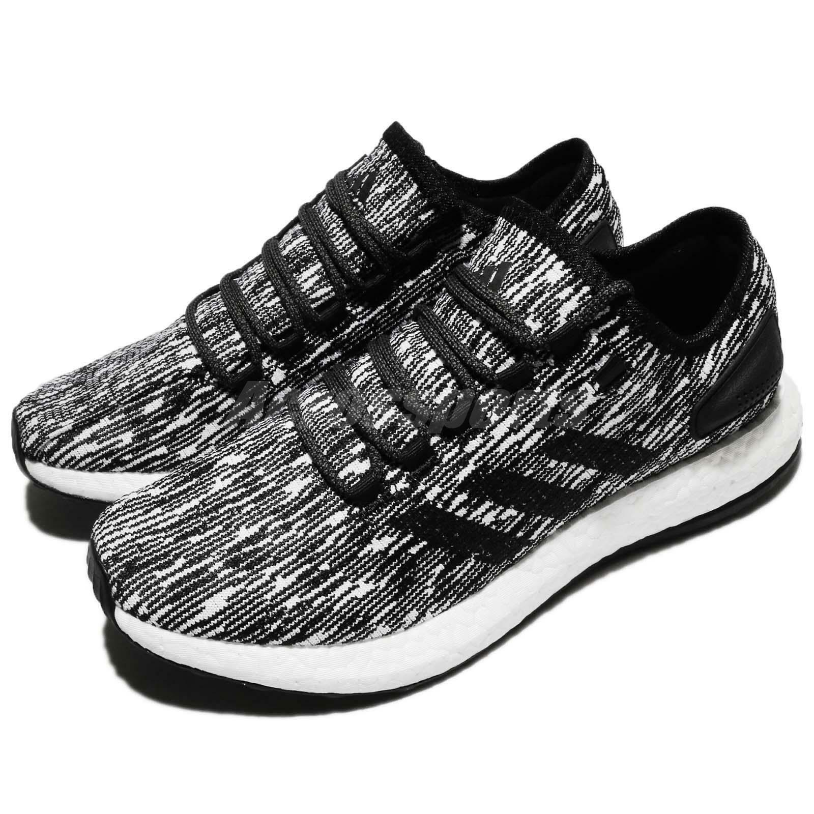 Adidas PureBOOST Black Black Black White Men Running shoes Sneakers  Trainers BB6280 efe5a6 2311df86918