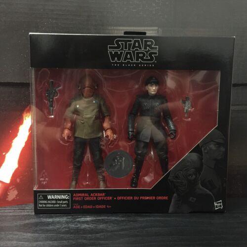 Star Wars Black Series Admiral Ackbar FO Officer ToysRUs Exclusive Figure