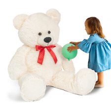 Ours en peluche géant 150 cm blanc