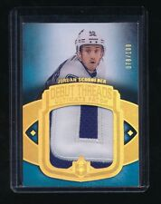 JORDAN SCHROEDER 2013-14 ULTIMATE COLLECTION DEBUT THREADS PATCH 070/100 CANUCKS