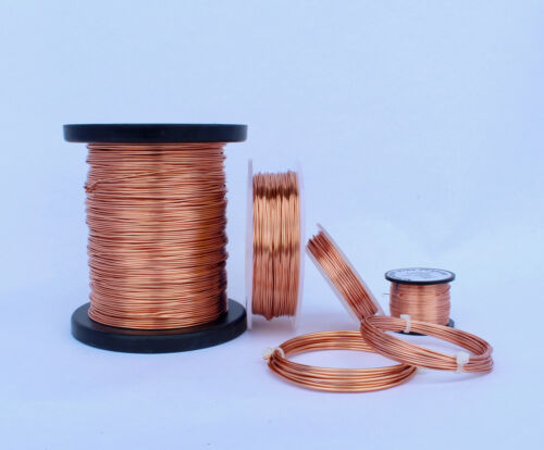 NON TARNISH HIGH QUALITY 500grams 1.5mm COPPER JEWELLERY WIRE 14 GAUGE