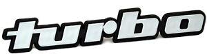 Auto-Relief-3D-Schild-TURBO-Emblem-12-cm-HR-Art-14624-selbstklebend-Typenschild