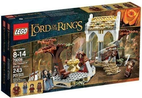 79006 HOBBIT THE COUNCIL COUNCIL COUNCIL OF ELROND lord of the rings LOTR lego NEW legos set e3ec5e