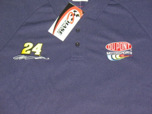 Jeff Gordon #24 Dupont Polo style shirt by Chase Sizes available: L XL 2XL