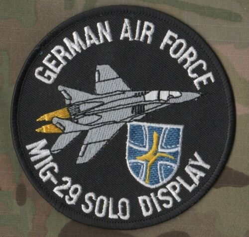 NATO GERMAN AIR FORCE Mig-29 SOLO DISPLAY SSI Shoulder Sleeve Insignia Patch