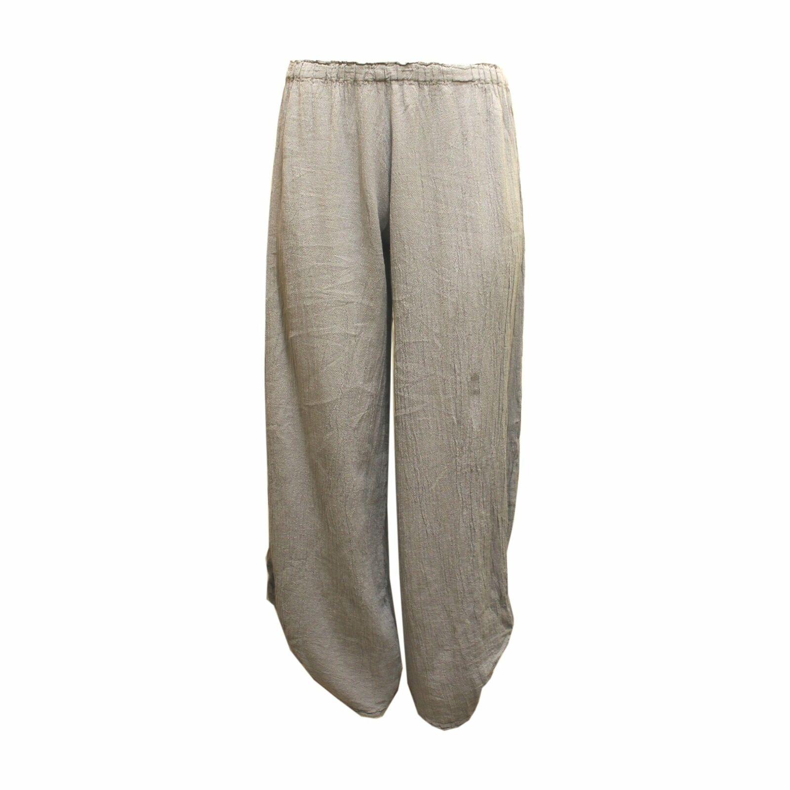 Una Vita Pantaloni P449 grigio, grigio, grigio, rosso o bianco 380988