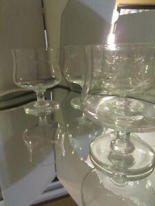 4-VTG-Etched-Atomic-Starburst-Design-Cocktail-Rocks-Glasses-MCM-14-oz-5-034-tall