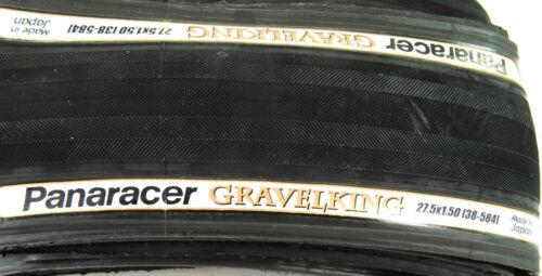 2-PACK Panaracer Gravel King 27.5 x 1.5 FOLDING Bike Tire Road GravelKing PAIR
