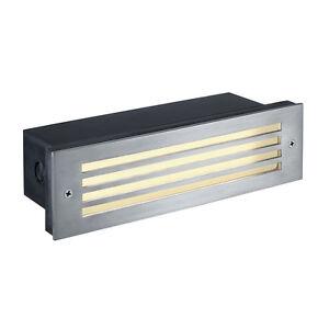 Intalite-IP54-Exterieur-Brique-Grille-Led-Encastre-Lampe-Murale-4W-Blanc-Chaud