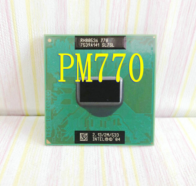Intel Pentium 4-M 770 2.13GHz / 2M /533 SL7SL Notebook Processor