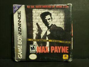 Max Payne Nintendo Game Boy Advance 2003 Gba Brand New Sealed Crushed Ebay