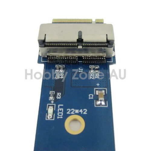 2013//14//15 MacBook Air Pro 12+16 Pins SSD to M.2 NGFF PCI-e Adapter Converter