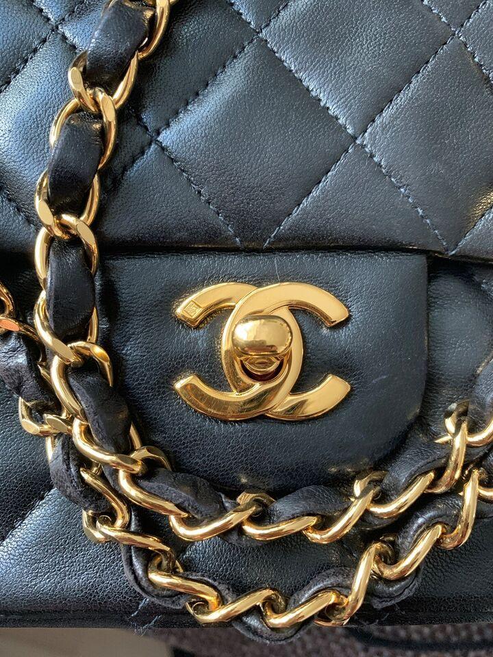 Crossbody, Chanel, lammeskind