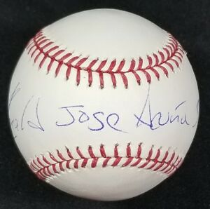 Ronald Acuna Autographed Signed FULL NAME Inscribed Baseball w/ JSA Witness COA
