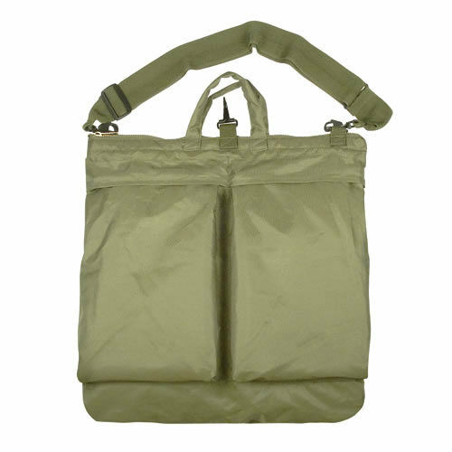 "aviation 20/"" x 20/"" Flyers Flight Army Green Pilot Helicopter Helmet Bag"