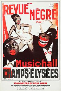 Vintage Style Poster Paul Colin Revue Negre Josephine ...