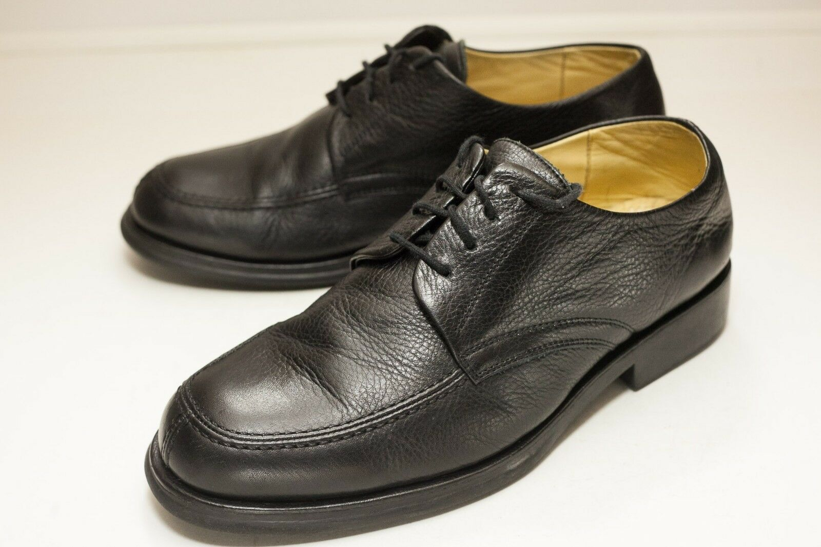 Sandro Moscoloni Size 11.5 Black Dress Shoes Men's