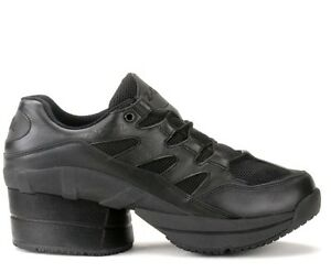 Z-Coil FREEDOM CLASSIC BLACK Covered WOMENS FW-02420-W Comfort Wide Shoes Zcoil~