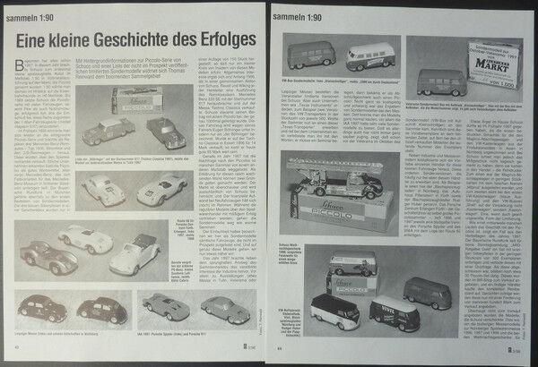 Schuco Piccolo modelo historia del éxito en 1 90...... un un un informe de modelo  1998  Felices compras