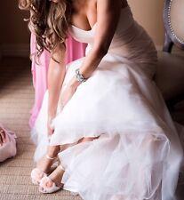 Monique Lhuillier Wedding DRESS Bliss BL1508 SWEETHEART Ivory Blush SIZE 10 (6)