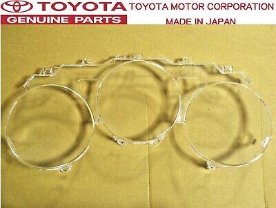 OEM Toyota 93-98 Supra JZA80 Instrument Gauge Cluster Clear Lens Genuine Part