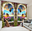 3D Garden sky 3 Blockout Photo Curtain Printing Curtains Drapes Fabric Window AU