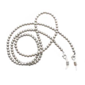 RAINBOW-Cordon-Lunettes-Porte-Lunette-Perles-RC-Shell-Pearl-Dark-5mm