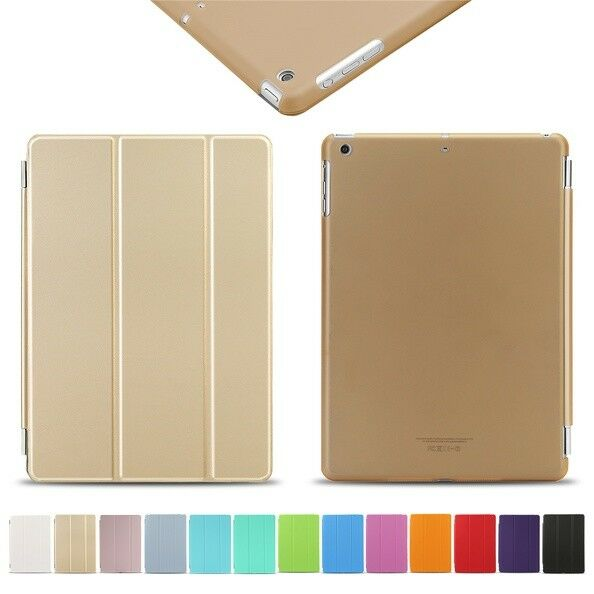 For iPad 234 Mini Air Case PU Leather Smart Cover Stand Slim Folio Sleep//Wake US