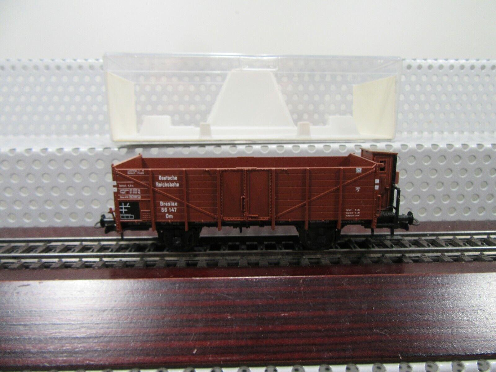 Omu Fleischmann 521610 offener Güterwagen Bauart El-u DR H0
