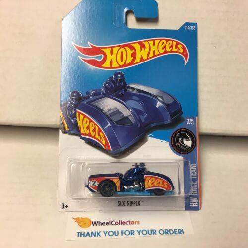 Blue 2017 Hot Wheels Case P Side Ripper #314 C25
