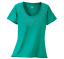 CABELAS-Womens-Glendo-Embellished-S-S-Knit-T-SHIRT-Green-or-Red-Medium-M-NWT thumbnail 2