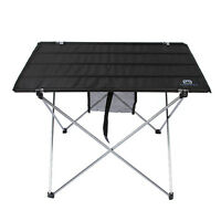 New Folding Table Outdoor Portable Camping Travel Hiking Picnic BBQ Roll Up Desk